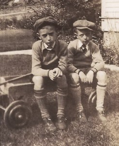 A much younger G-Pa with his kid brother.