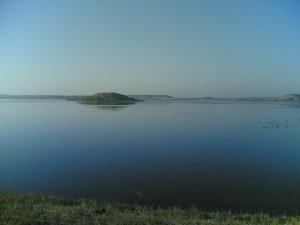 Water Reservoirs around Jamnagar