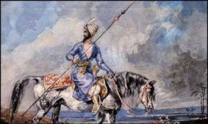 Soldier on Horse in Saurashtra