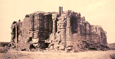 Broken Somnath Temple