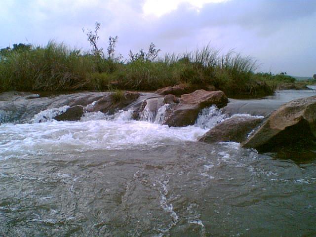 Zamzeer Water Fall Near Kodinaar