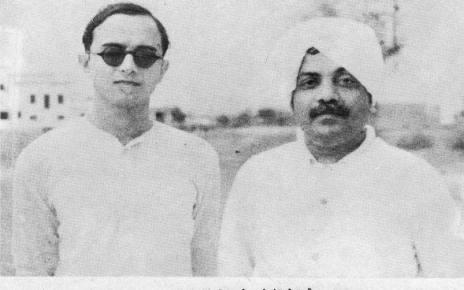 Umashankar Joshi and Zaverchand Meghani