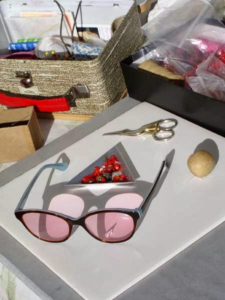 Rose Colored Glasses, Free Tip for Computor Light Sensitivity