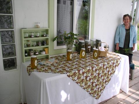 Sunwise Farm & Sanctuary honey, seeds, Kathleen O'Brien