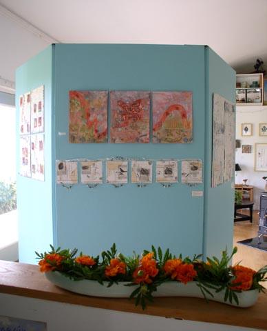 Open Studio display, Kathleen O'Brien