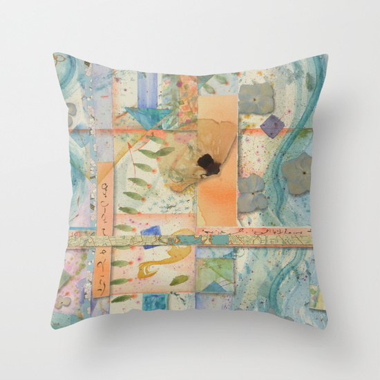 Crossroads & Quadrants pillow from Society6