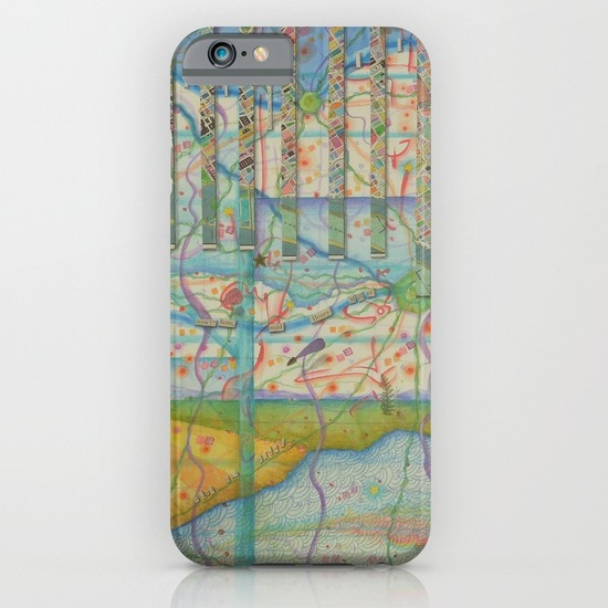 Let Us iPhone skin from Society6