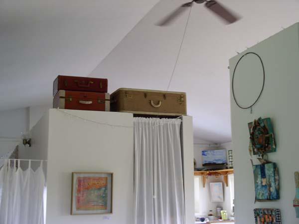Studio Storage Suitcases, Kathleen O'Brien