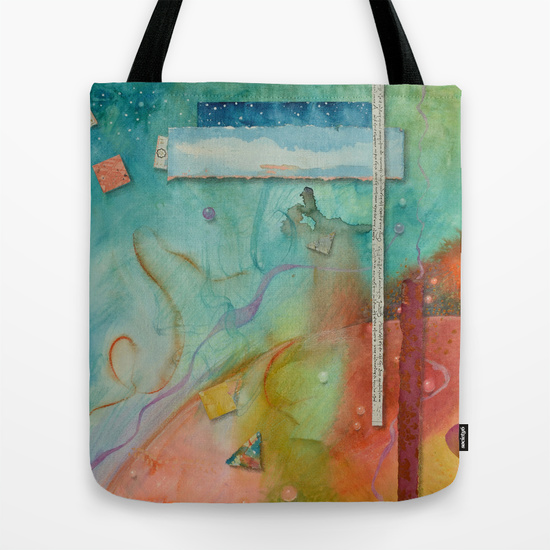Outer World Tote from Society6