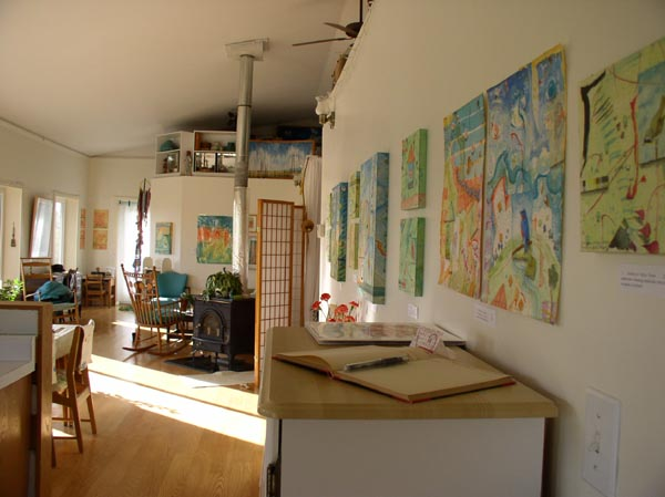 Open Studio display, Kathleen O'Brien
