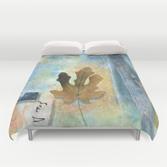 Blessings of Rain Duvet Cover from Society6