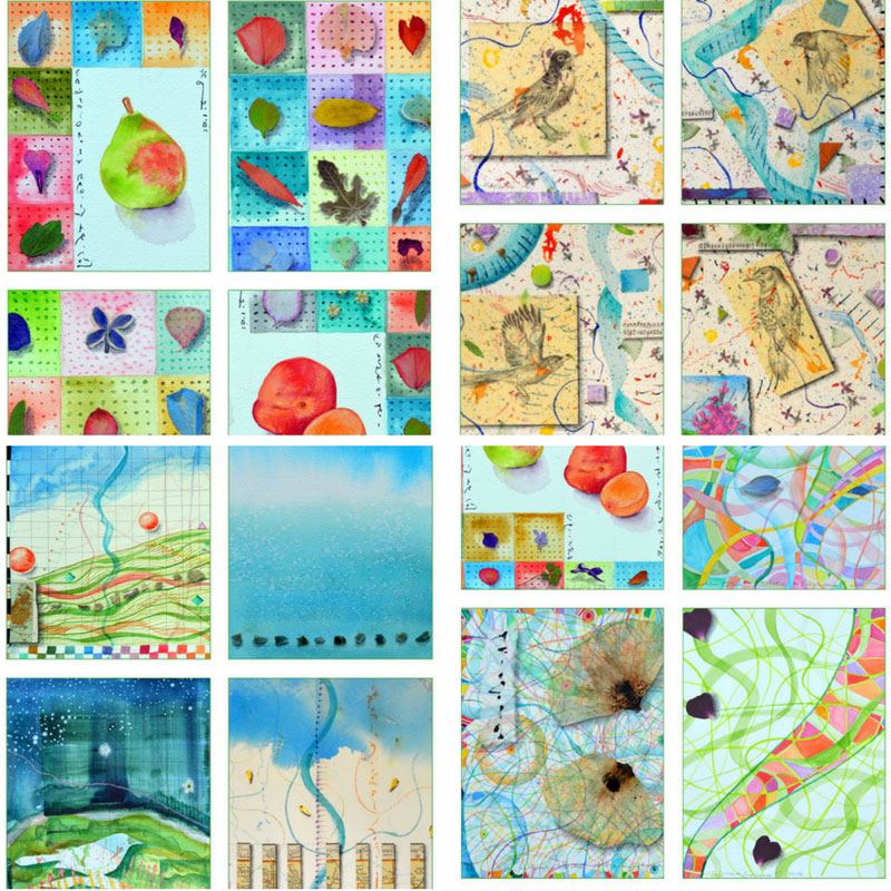details of new card sets by Kathleen O'Brien
