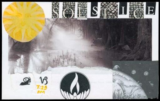 December 21, Solstice back
