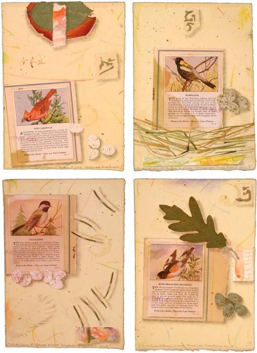 Kathleen O'Brien, American Song Bird Card set