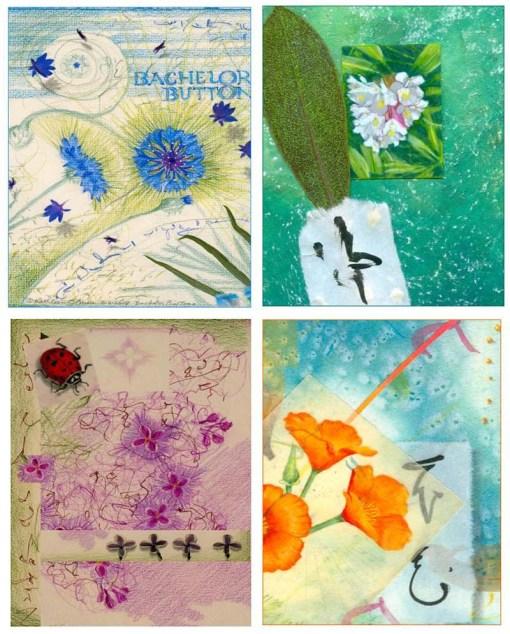 Flower Card Set 3