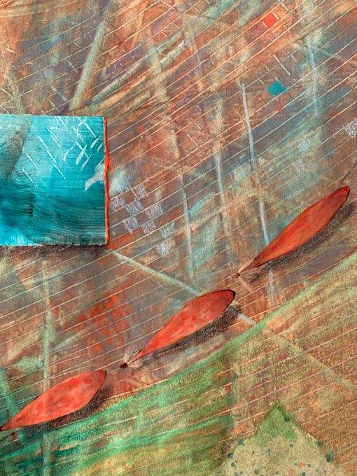 """Light of the Earth 9"", detail, ©Kathleen O'Brien"