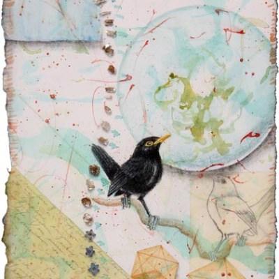 Blackbird Fly into the Light of the Dark Black Night, for J. Lennon