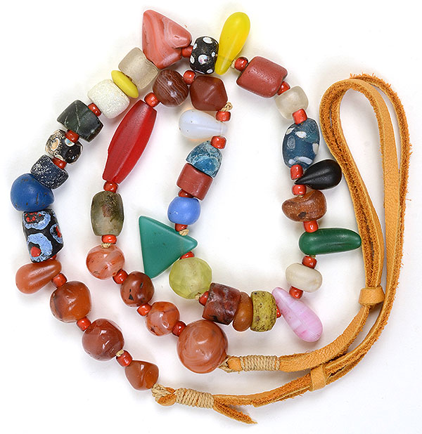 """""""Talisman for Grounding 1"""", necklace by Kathleen O'Brien"""