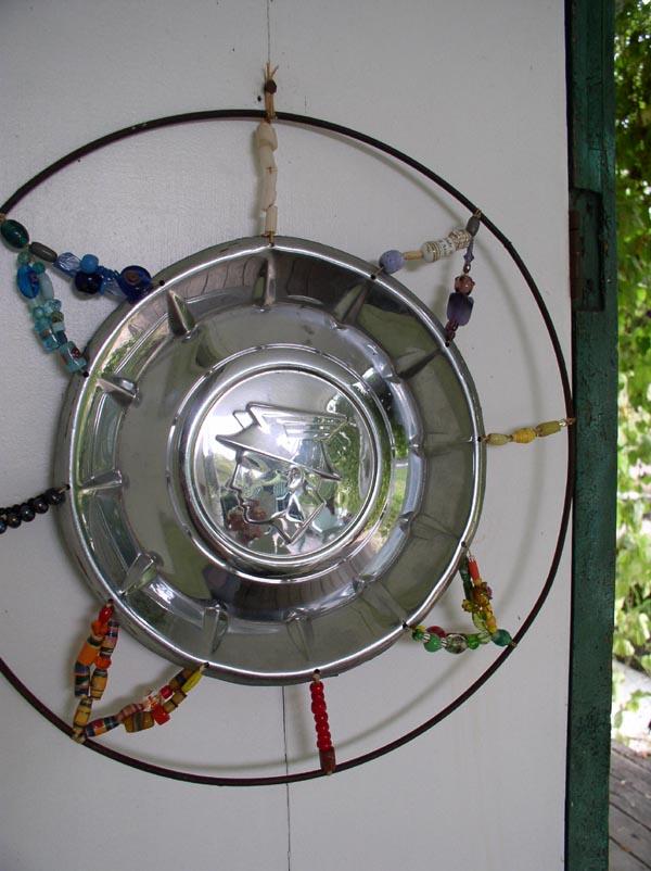 """Mercury Mandala Shield"" by Kathleen O'Brien"