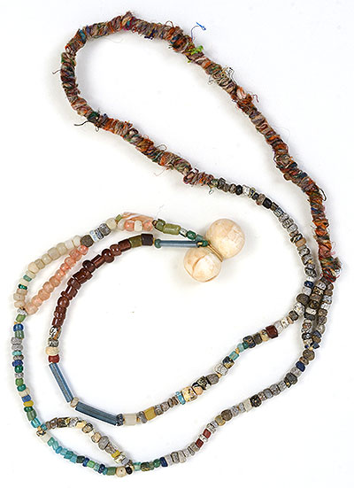"""Talisman for the Earth"" necklace detail by Kathleen O'Brien"