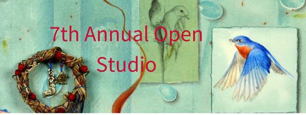 7th open studio banner