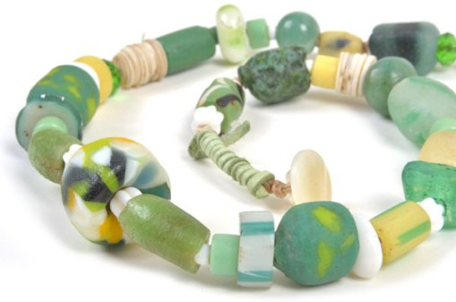 Talisman for Health, necklace by Kathleen O'Brien
