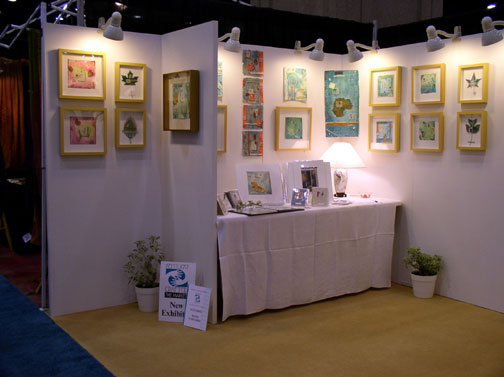 2004 Best New In-State Exhibitor, Kentucky Crafted: the Market, Kathleen O'Brien's Booth