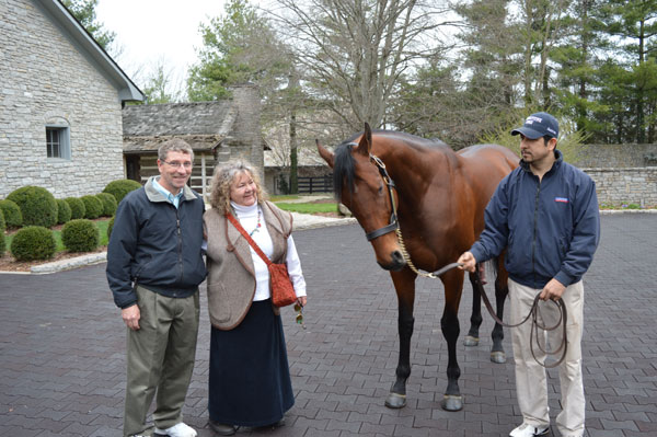 American Pharoah, Triple Crown Champion at Coolmore Stud
