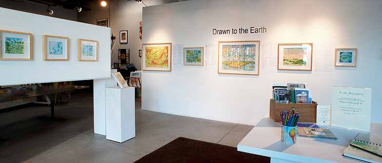 "Gallery view 1 of ""Drawn to the Earth"", photo credit Mary Rezny"
