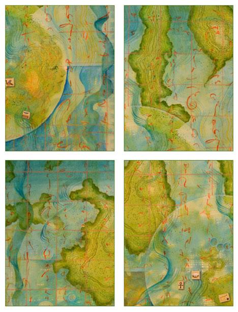 08 Worlds Of Islands Card Set, Kathleen O'Brien