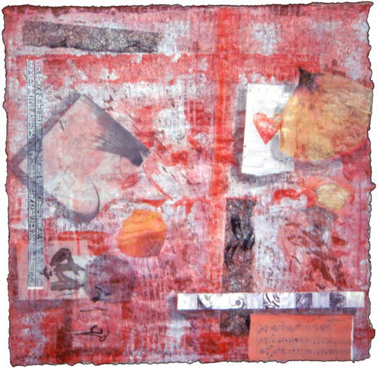 """Lacrimosa"", from Mozart Requiem for 9/11, collage by Kathleen O'Brien, 2002"