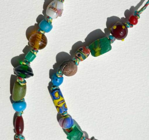 Healing Necklace 4 detail 4 by Kathleen O'Brien