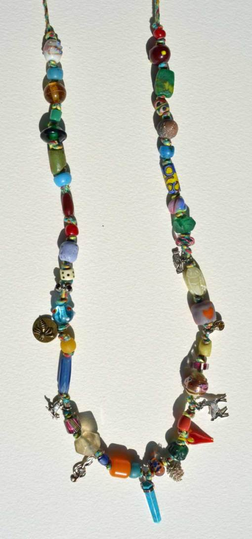 Healing Necklace 4 by Kathleen O'Brien