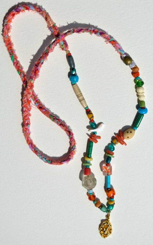 Healing Necklace 5 by Kathleen O'Brien