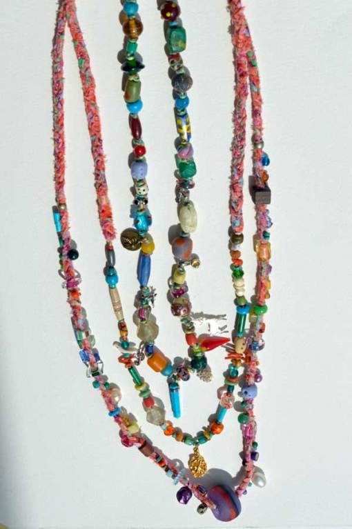 Healing Necklaces 4, 5 and 6 by Kathleen O'Brien