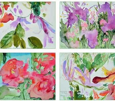 Bouquet Card Set 3 by Kathleen O'Brien