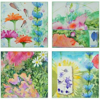Bouquet Card Set 4 by Kathleen O'Brien