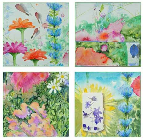 Bouquet Card Set 4 by Kathleen O'Brien