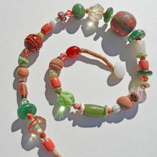 Talisman for Transitions, necklace by Kathleen O'Brien