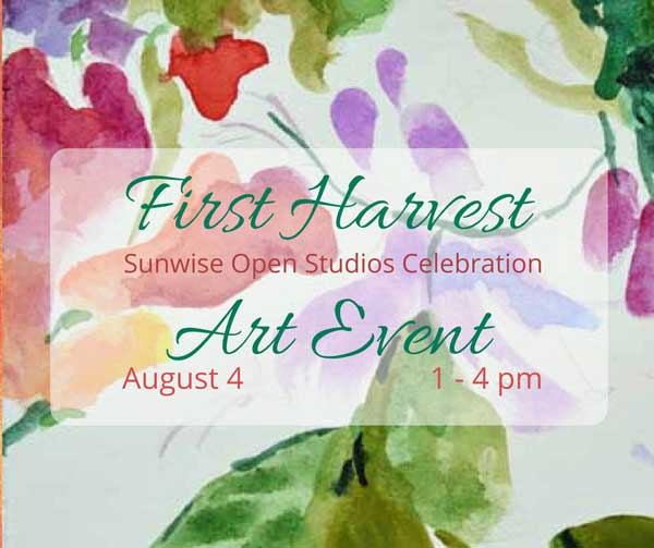 Sunwise First Harvest Open Studio