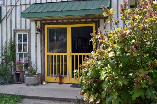 Sunflower Sundries Market Shop entrance