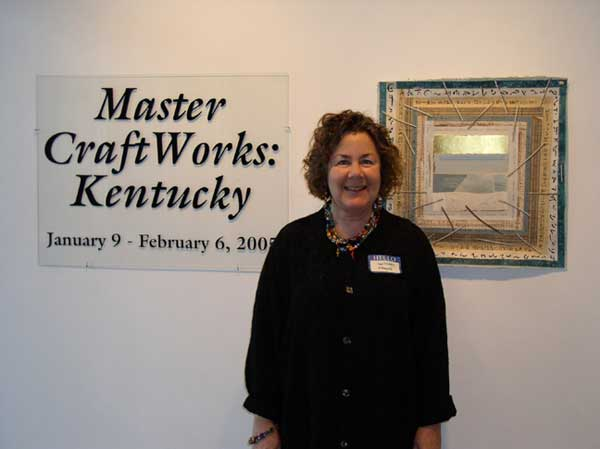 """© Kathleen O'Brien, """"Book of Light, page 71"""" at """"Master CraftWorks: Kentucky"""" exhibit, 2007"""