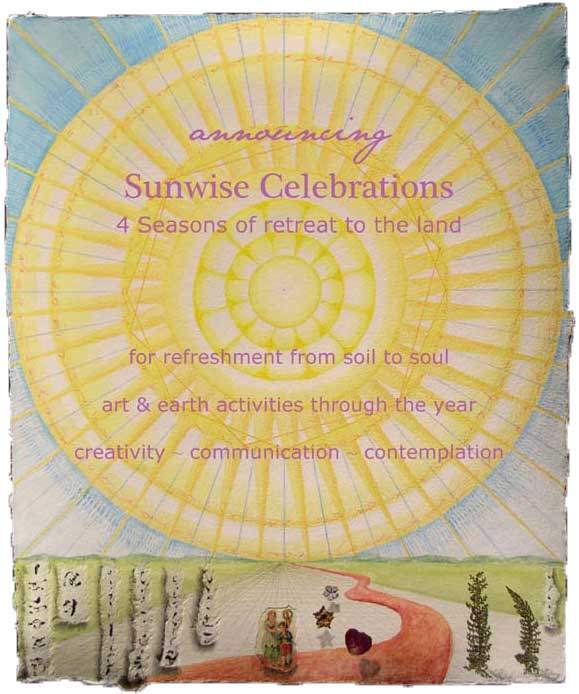 "© Kathleen O'Brien, ""Announcing Sunwise Celebrations"","