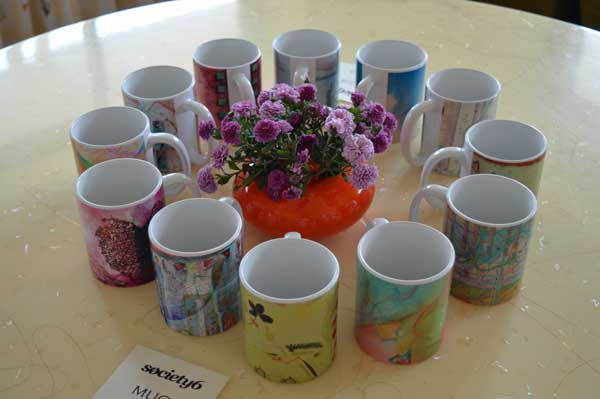 © Kathleen O'Brien, Mugs and Mums