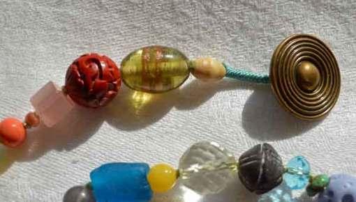 © Kathleen O'Brien, Healing Necklace 17, detail
