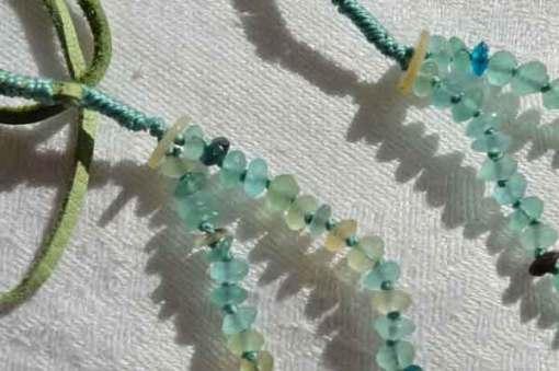 © Kathleen O'Brien, Healing Necklace 18, detail 1