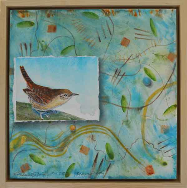 04 Brown Betty, Framed panel, © Kathleen O'Brien
