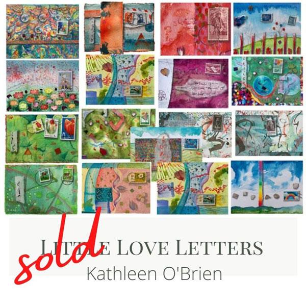 "a few ""Little Love Letters"" that sold, ©Kathleen O'Brien"
