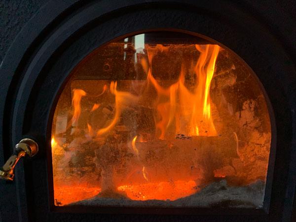 fire graciously warming, ©Kathleen O'Brien