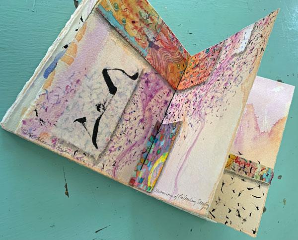 """murmurations"", the book, ©Kathleen O'Brien,"